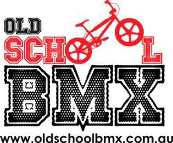 Old School BMX Sponsor Logo